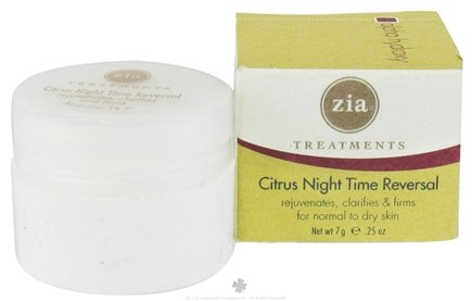 DROPPED: Zia - Treatments Citrus Night Time Reversal - 0.25 oz.