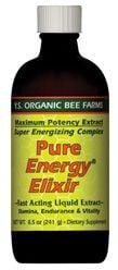 DROPPED: YS Organic Bee Farms - Pure Energy Elixir:65 Royal Jelly (Glass Bottle) 550 mg. - 8.5 oz.