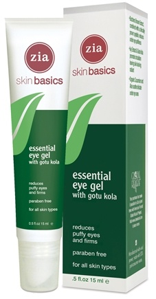 DROPPED: Zia - Skin Basics Essential Eye Gel With Gotu Kola - 0.5 oz.