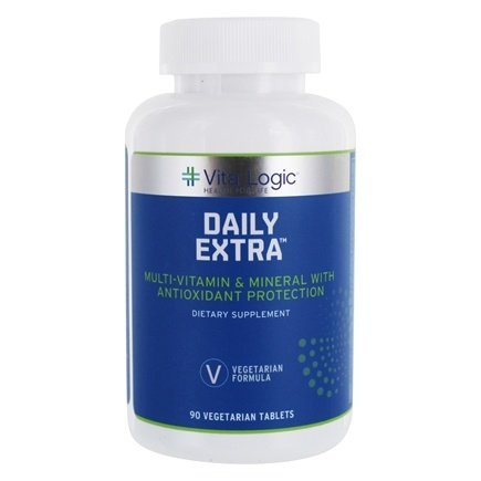 DROPPED: Vita Logic - Daily Extra Complete Multi-Vitamin & Mineral Formula Once Daily - 90 Tablets