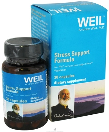 DROPPED: Weil Nutritional Supplements - Stress Support Formula - 30 Capsules CLEARANCE PRICED