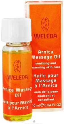 DROPPED: Weleda - Arnica Massage Oil - Travel Size - 0.34 oz. CLEARANCE PRICED