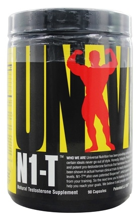 Universal Nutrition - N1-T Natural Testosterone Supplement - 90 Capsules