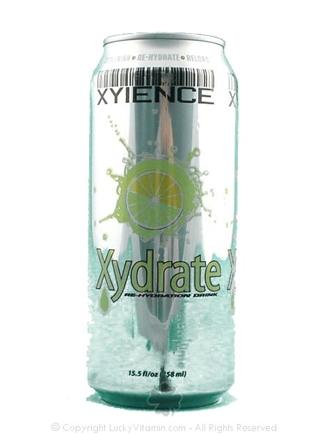 DROPPED: Xyience - Xydrate Re-hydration Drink Lemon Lime - 15.5 oz.