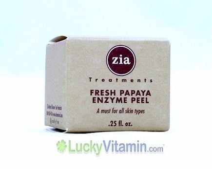 DROPPED: Zia - Fresh Papaya Enzyme Mask(Gentle exfoliation for normal, dry or sensitive skin.) - 0.25 oz.