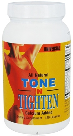 DROPPED: Universal Nutrition - Tone N Tighten - 120 Capsules CLEARANCE PRICED