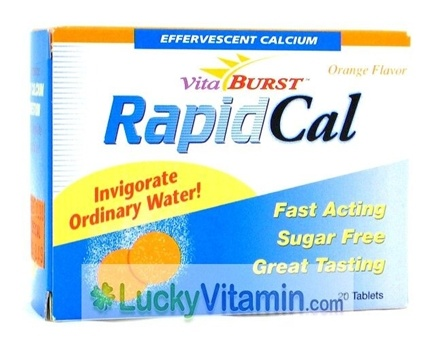 DROPPED: Vitaburst - Rapid Cal - 20 Tablets