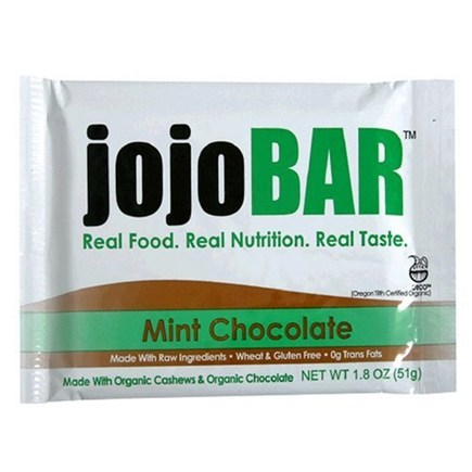 DROPPED: Vital NRG - Jojo Organic Food Bar Mint Chocolate - 1.8 oz.