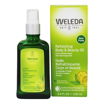 DROPPED: Weleda - Citrus Body Oil - 3.4 oz. CLEARANCE PRICED