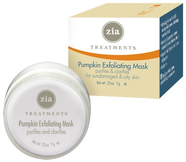 DROPPED: Zia - Pumpkin Exfoliating Mask - 0.25 oz.