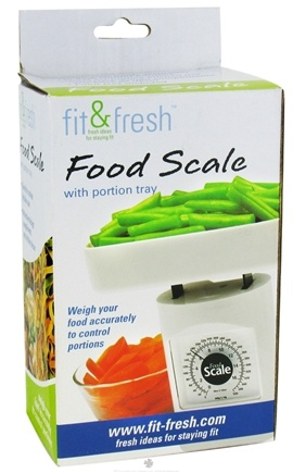 DROPPED: Fit & Fresh - Food Scale with Portion Tray - formerly by Vitaminder CLEARANCE PRICED