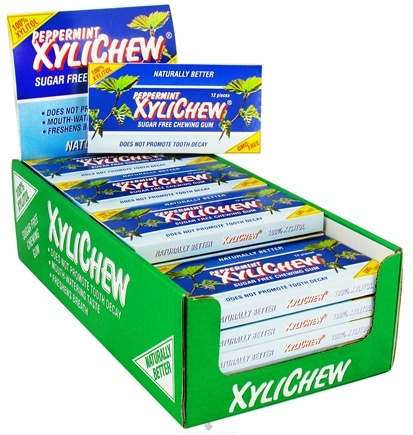 DROPPED: XyliChew - Chewing Gum Peppermint - 12 Piece(s)