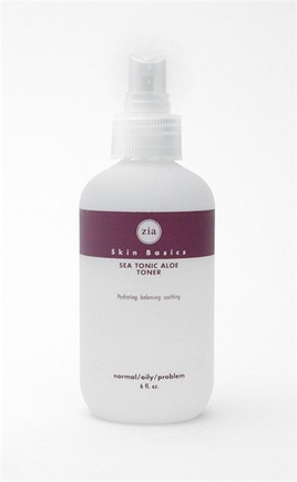 DROPPED: Zia - Sea Tonic Aloe Toner(Soothes and balances normal and oily skin types.) - 6 oz.