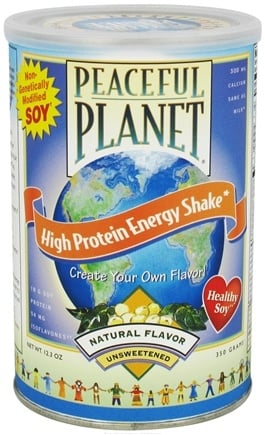 DROPPED: VegLife - Peaceful Planet High Protein Shake Natural Unsweetened - 12.3 oz. CLEARANCE PRICED
