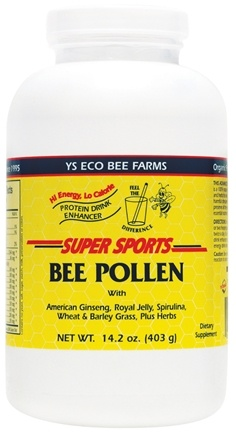 DROPPED: YS Organic Bee Farms - Super Sports Bee Pollen Protein Drink Enhancer - 14 oz. CLEARANCE PRICED