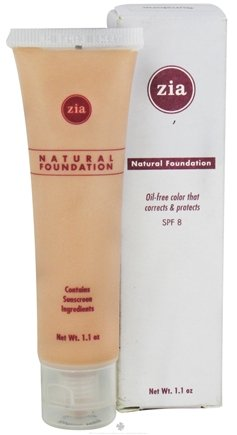DROPPED: Zia - Natural Foundation Sunstone 8 SPF - 1.1 oz.