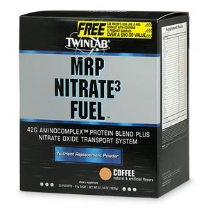 DROPPED: Twinlab - MRP Nitrate3 Fuel Coffee - 20 Packet(s)