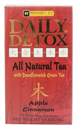 Wellements - Daily Detox Tea Apple Cinnamon - 30 Tea Bags