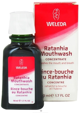 DROPPED: Weleda - Ratanhia Mouthwash Concentrate - 1.7 oz.