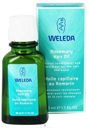 DROPPED: Weleda - Rosemary Hair Oil - 1.7 oz. CLEARANCE PRICED