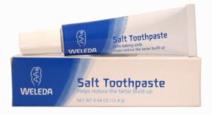 DROPPED: Weleda - Salt Toothpaste - Travel Size - 0.44 oz.