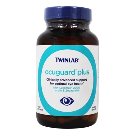 Twinlab - OcuGuard Plus Advanced Vitamin & Antioxidant Supplement For The Eyes - 60 Capsules