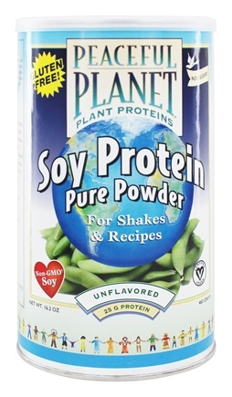 VegLife - Peaceful Planet Soy Protein Powder - 16.2 oz.