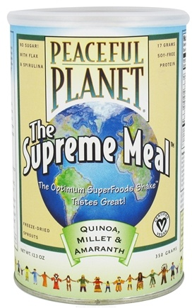 DROPPED: VegLife - Peaceful Planet The Supreme Meal - 12.3 oz.