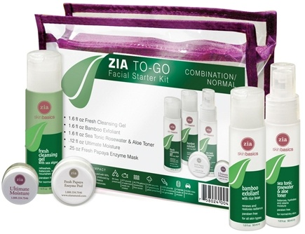 DROPPED: Zia - To Go - Facial Starter Kit for Normal Skin