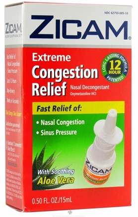 DROPPED: Zicam - Extreme Congestion Relief Liquid Nasal Gel - 0.5 oz. CLEARANCE PRICED