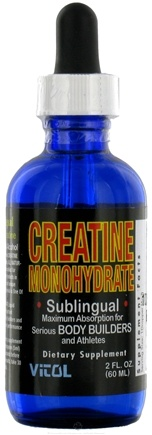DROPPED: Vitol - Creatine Monohydrate - 2 oz. CLEARANCE PRICED