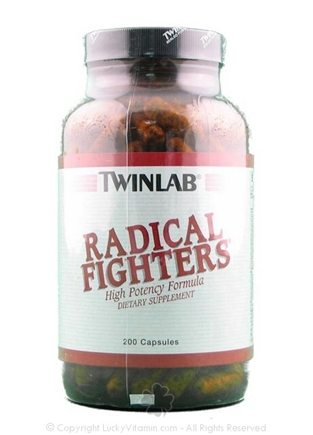 DROPPED: Twinlab - Radical Fighters High Potency Formula - 200 Capsules