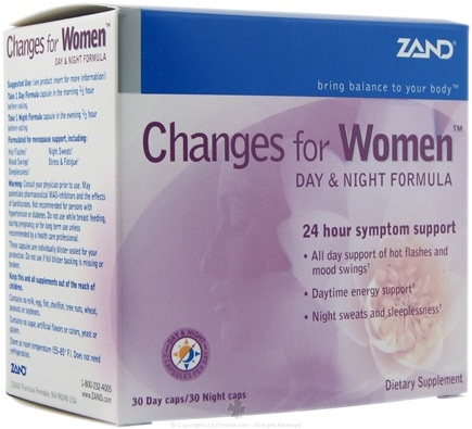 DROPPED: Zand - Changes for Women Day & Night Formula - (Formerly Menopause Herbal Kit) CLEARANCE PRICED