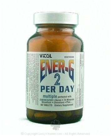 DROPPED: Vitol - Ener-G 2 Per Day - 60 Tablets CLEARANCE PRICED