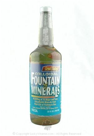 DROPPED: Vitol - Colloidal Fountain of Minerals - 32 oz. CLEARANCE PRICED