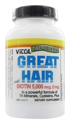 Vitol - Great Hair - 120 Tablets