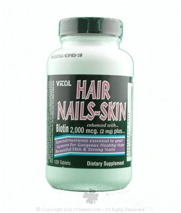 DROPPED: Vitol - Hair Nails-Skin CLEARANCE PRICED - 120 Tablets