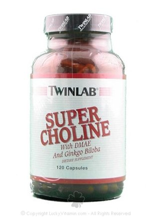 DROPPED: Twinlab - Super Choline - 120 Capsules
