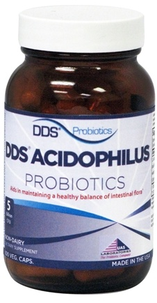 DROPPED: UAS Laboratories - DDS-Acidophilus - 100 Capsules CLEARANCE PRICED