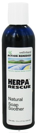 DROPPED: Wellinhand - Herpa Rescue Soap Soother - 6 oz. CLEARANCE PRICED