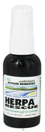 DROPPED: Wellinhand - Herpa Rescue Treatment Spray - 2 oz.