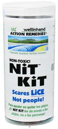 DROPPED: Wellinhand - Nit Kit Lice Treatment Kit - CLEARANCE PRICED