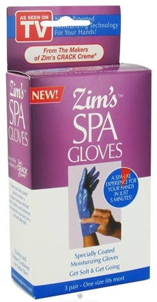 DROPPED: Zim's - Spa Gloves 3 Pairs - CLEARANCE PRICED