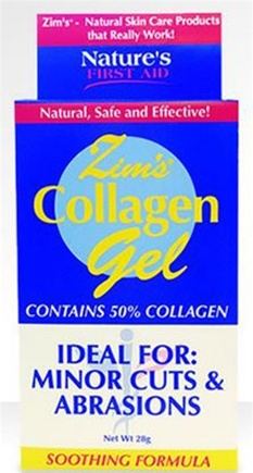 DROPPED: Zim's - Wound Care Advanced Collagen Gel - 28 Grams