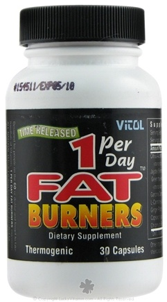 DROPPED: Vitol - One Per Day Fat Burner - 30 Capsules