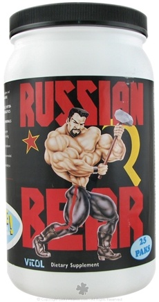 DROPPED: Vitol - Russian Bear - 25 Pack(s) CLEARANCE PRICED