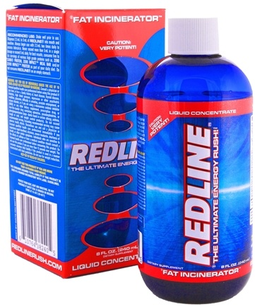 DROPPED: VPX - Redline Liquid Concentrate Ultimate Energy Rush Fat Incinerator - 8 oz.