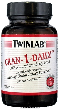 DROPPED: Twinlab - Cran-1-Daily - 30 Capsules