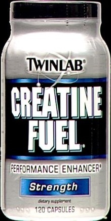 DROPPED: Twinlab - Creatine Fuel - 120 Capsules
