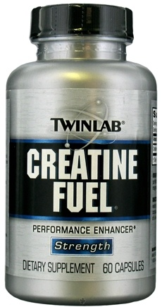 DROPPED: Twinlab - Creatine Fuel Performance Enhancer - 60 Capsules CLEARANCE PRICED